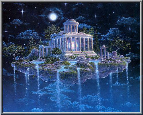 le temple de la magie, du royaume des songes  ...