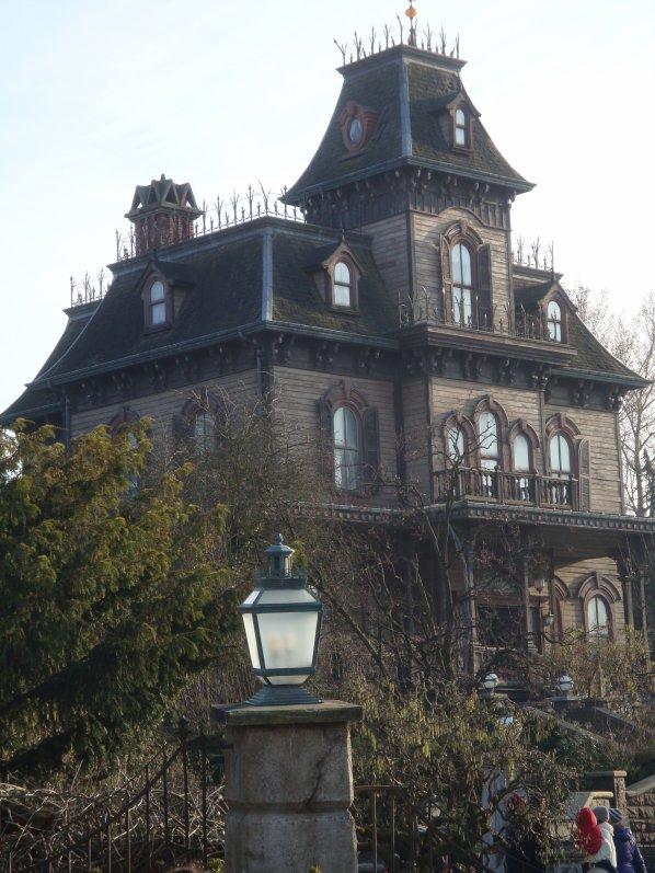 la maison hantée ...