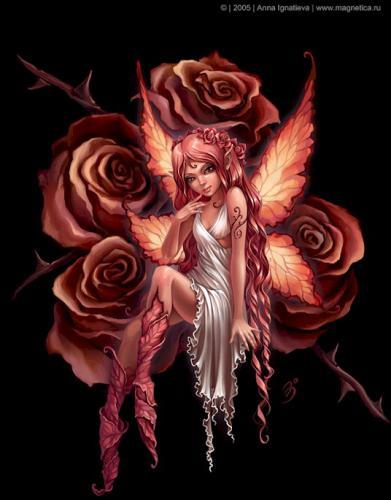 ...les fées ...  vu par Anna Ignatieva ...