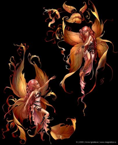 ... les fées ... vu par Anna Ignatieva ...