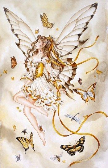 ... les fées ... vu par Nene Tina Thomas ...