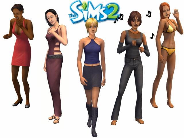 ...  les Sims 2 ...