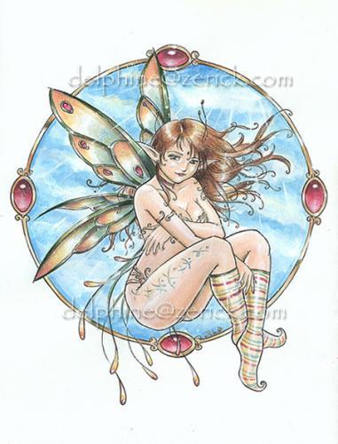 ... les fées ... vu par Delphine Levesque Demers ...