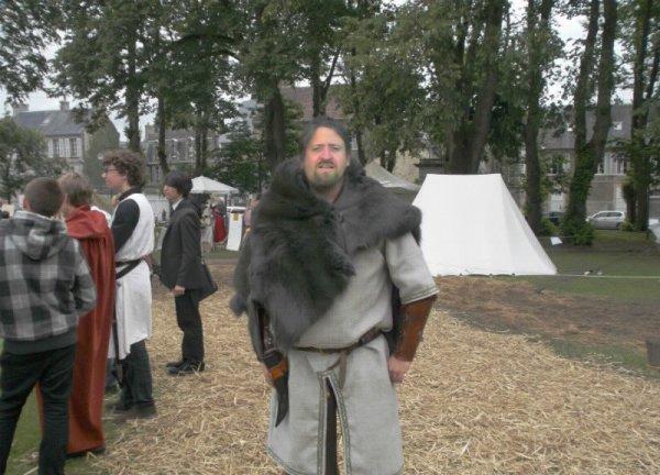 moi a bayeux au festival medieval 2012