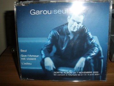 CD promotionnel rare de Garou