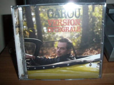 """Album de Garou """"version integrale"""""""