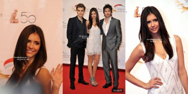 09.06.10 - 50th Monte Carlo Television Festival (Day #04) Anniversary Party  06.06.10 - 50th Monte Carlo Television Festival (Opening Ceremony)  23.01.10 - Hot Topic Mall Tour (Atlanta)  08.01.10 - The CW '2010 Winter TCA Cocktail Party' in CA  17.10.09 - 2009 Spike TV's Scream Awards (After Party)