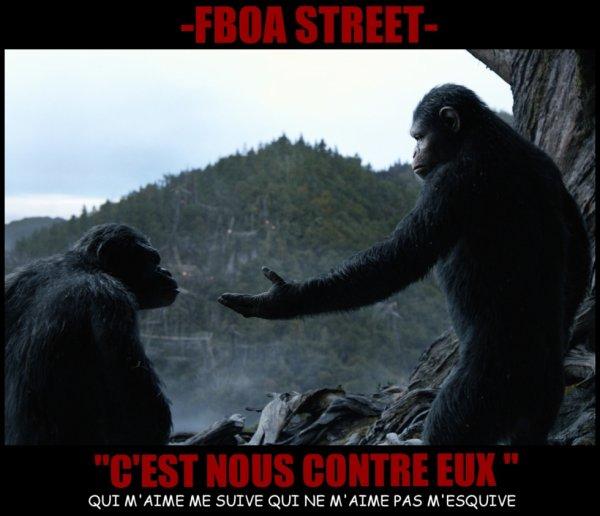 - Depuis quand ils sont comme ça les singes ? - Bah tu voudrais qu'ils soient comment ? - Soumis à la loi de la cacahuète ! #FBOASTREET #RAPFONSDAILLE #CNOUSCONTREUX #SERIESTREETCLIPS #ASUIVRE