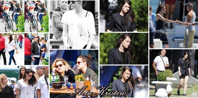 26.08.13 - tournage de Sils Maria à Berlin