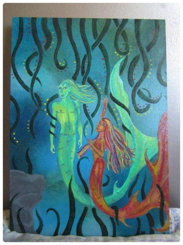 Couple de sirène