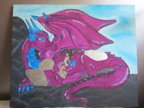 Dragon pour un concour sur le 4eme Tome de Eragon