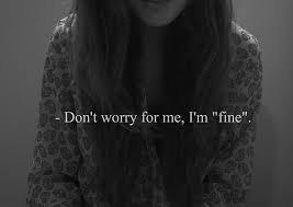 Désoler de te mentir..