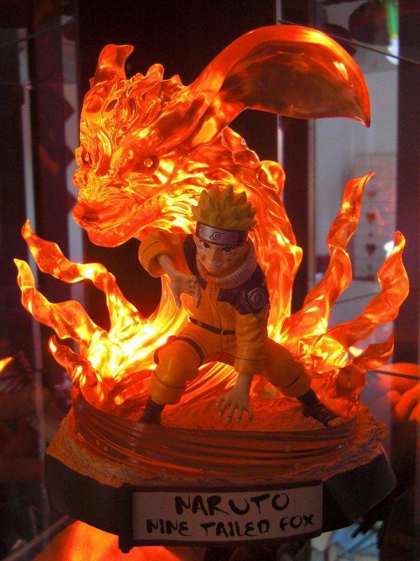 Naruto - Nine Tailed Fox Spirit - 1000ex