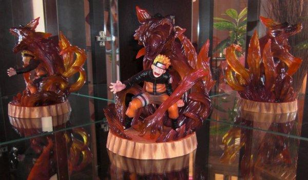 Naruto -->Nine Tailed Fox<-- Ichiban Kuji Banpresto 1er Prix -->100ex<--