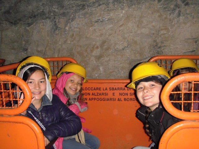 Mine de talc des CM2 le mercredi 1er juin