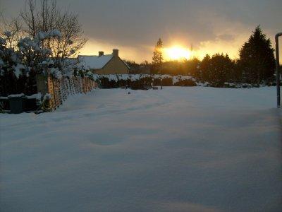 photo du lever du soleil!!