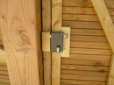 la sonnette interphone vid o ouverture portillon est aussi op rationnelle maison bois doudou. Black Bedroom Furniture Sets. Home Design Ideas