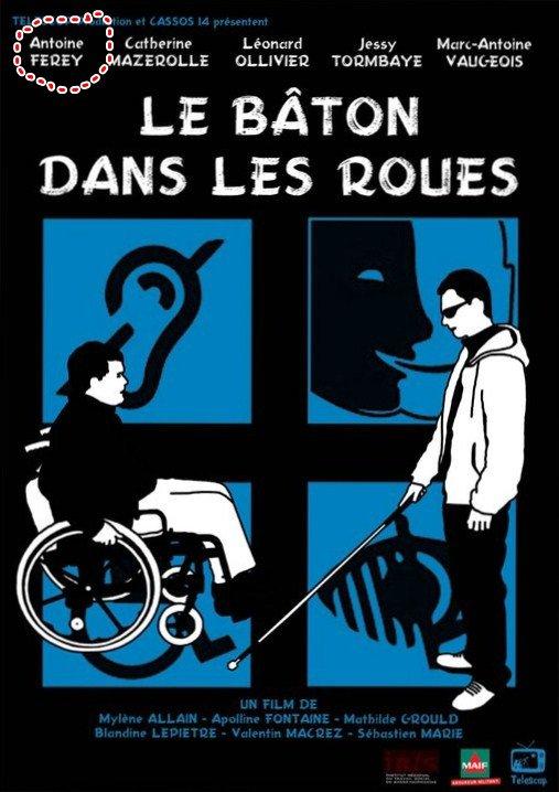 """Antoine Ferey dans """"le bâton dans les roues"""""""