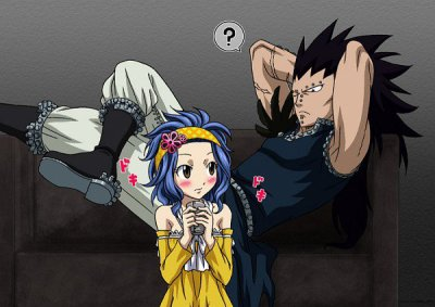 One shot fairy tail . Reby X Gadjil