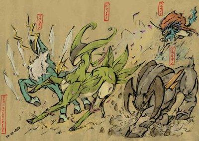 Pokémon version Noire & Blanche / Combat Pokémon Légendaire. (2011)