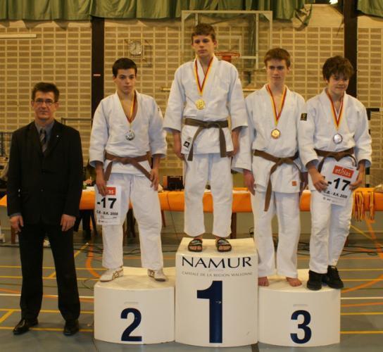 3ème au championnat de wallonie 2008