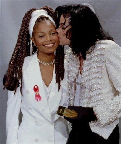 Michael Jackson et Janet Jackson