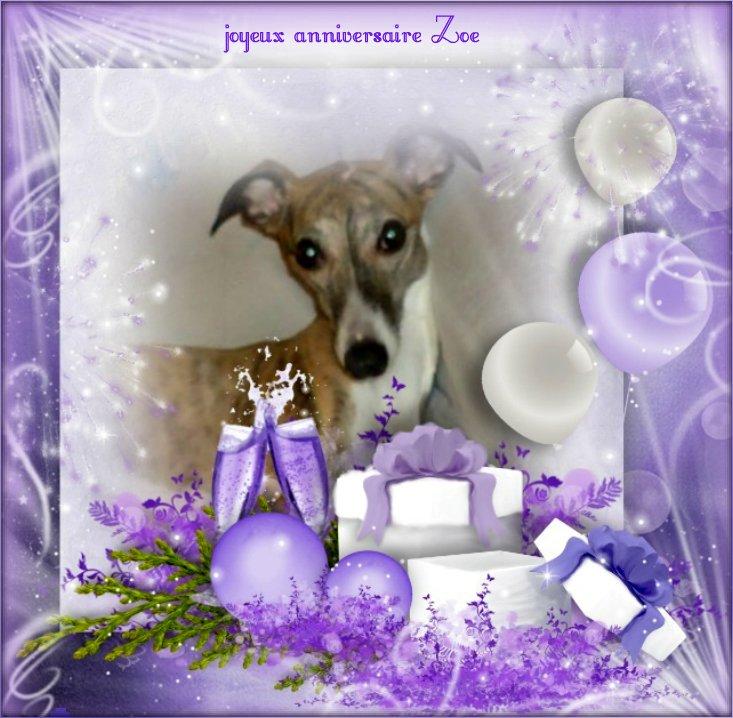 Joyeux Anniversaire Belle Zoe L Lechouilles De Cisco Et Dody Cis