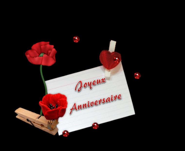 JOYEUX  ANNIVERSAIRE  (l)    PLEINS  DE  BISOUS