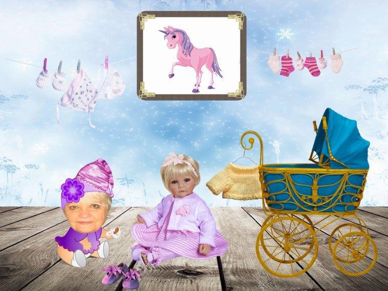 SUITE  DES  MISS  BABYS   CHEZ  MON  AMIE  SANDRINE   (l)      MDRRRR