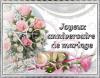 JOYEUX  ANNIVERSAIRE  DE  MARIAGE  DANY  ET  MARY    (l)