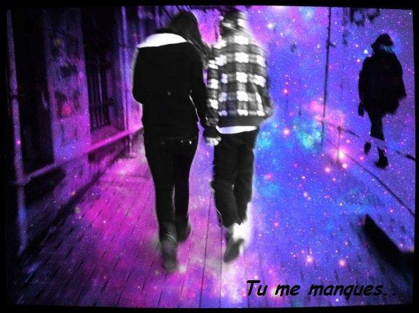 Parce que sans toi ,ma vie n'as plus aucun sens... </3