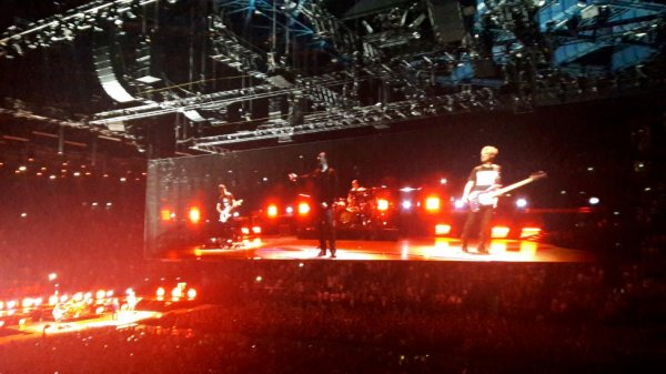 U2 Bercy 09/09/18