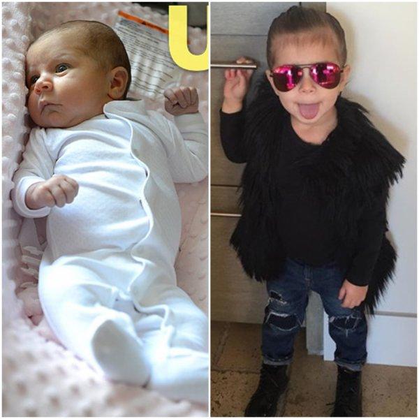 Kourtney Kardashian & Ses Enfant Mason , Penelope & Reign Aston Disick