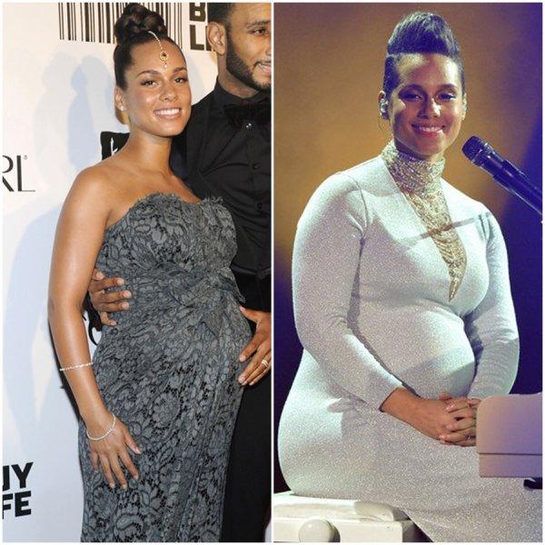 Alicia Keys & Ses Enfants Egypt & Genesis Dean