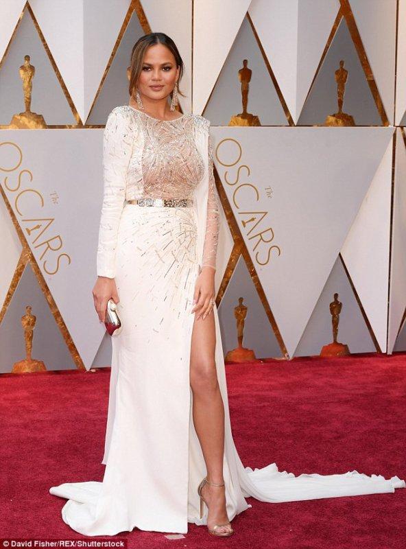 John Legend & Chrissy Teigen au Oscar