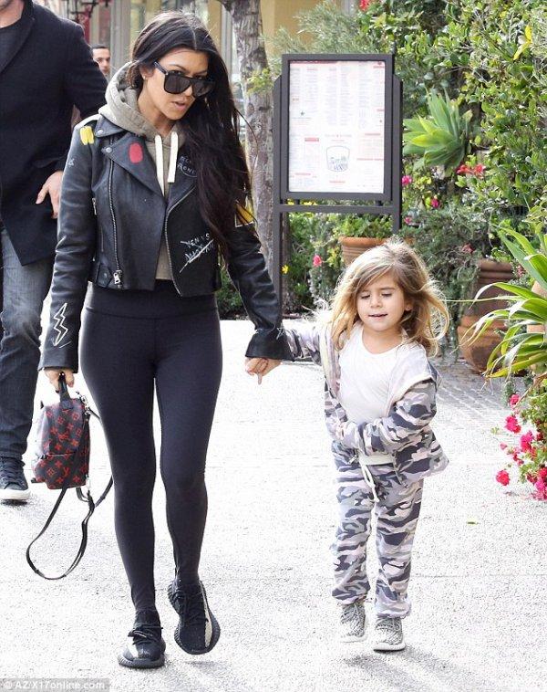 Kourtney Kardashian & Penelope Disick