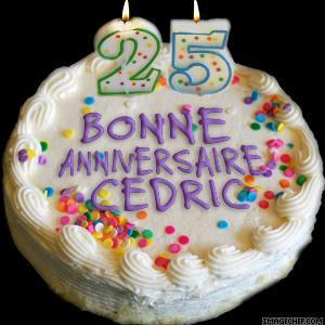 Je Souhaite Un Tres Bon Anniversaire A Mon Beau Fils Cedric