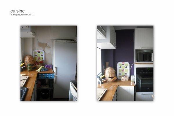 travaux cuisine 2012