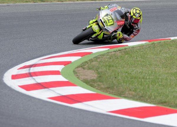 Valentino Rossi termine 7e en Catalogne