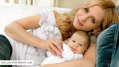 Sarah, Alyson, Michelle et leurs bébés