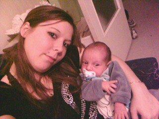 ma shery et notre fils :))