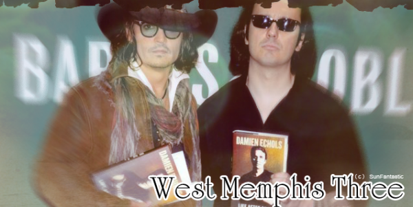 Johnny Depp soutiens les West Memphis Three
