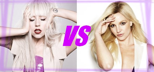 Lady Gaga vs Britney Spears