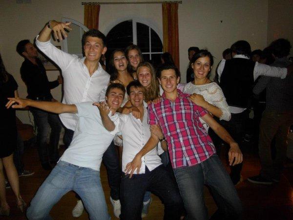 mes 18ans, mes potes, grosse soirée que je n'oublierais jamais!!!!