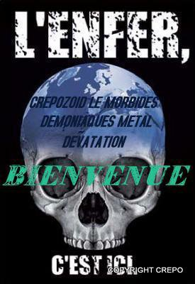 HARD CORE DEMONIAQUES METAL VAMPIRIQUES FAMILLIE GIRLS BOYS