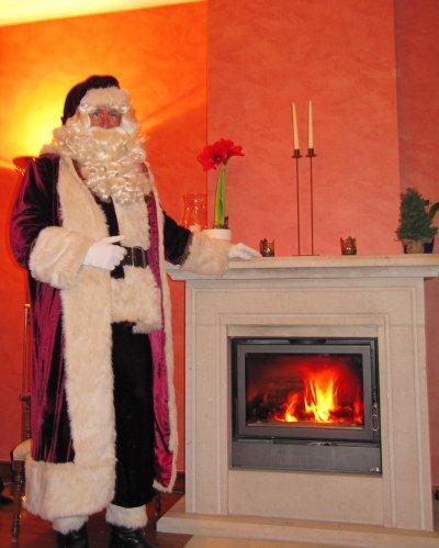 Le Père Noël et Saint Nicolas chez vous