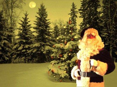Père Noël à domicile