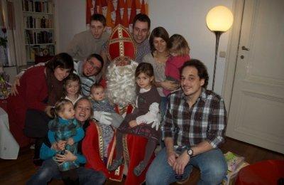 Saint Nicolas chez vous à domicile