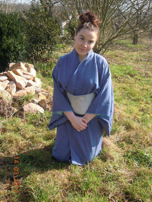 my blue kimono