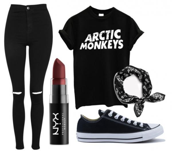 Arctic monkeys style